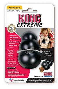 Kong toy small zwart-Flamingo