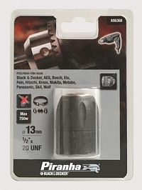 Snelspanboorhouder 0.4 tot 3.2mm-Black & Decker