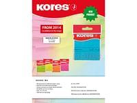 Kores Blue Blok 100 Memo Notes 75X75Mm-Kores