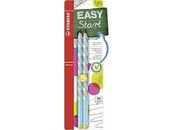 Stabilo Easy Graph Hb Left Light Blue
