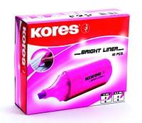 Kores Markeerstift Pink-Kores