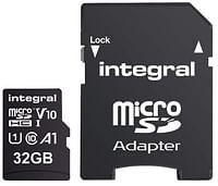 Integral Geheugenkaart microSDHC V10 32 GB-Integral
