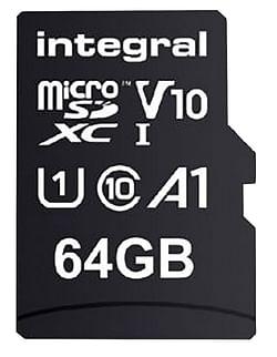 Integral Geheugenkaart microSDXC v10 64 GB