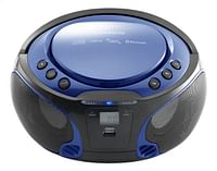Lenco draagbare radio/cd-speler SCD 550 blauw-Lenco