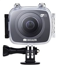 Braun Action Cam Champion 360 zwart-Braun