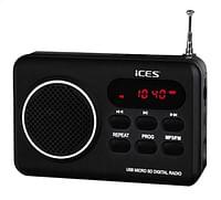 iCES radio IMPR-112 zwart-Ices
