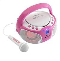 Lenco draagbare radio/cd-speler SCD 650 roze-Lenco