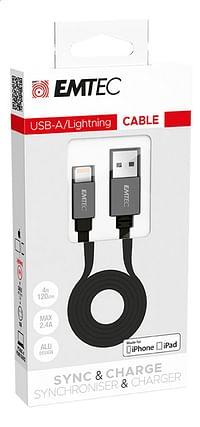 Emtec kabel USB naar lightning T700-Emtec