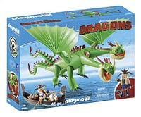 PLAYMOBIL Dragons 9458 Brokdol & Knoldol-Playmobil