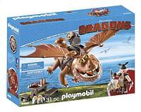 PLAYMOBIL Dragons 9460 Viztik & Vleeskop-Playmobil