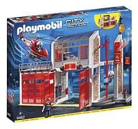 PLAYMOBIL City Action 9462 Grote brandweerkazerne met helikopter-Playmobil
