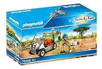 PLAYMOBIL Family Fun 70346 Dierenverzorger met voertuig-Playmobil