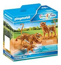 PLAYMOBIL Family Fun 70359 2 Tijgers met baby-Playmobil