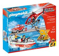 PLAYMOBIL City Action 9319 Brandweer Reddingsmissie-Playmobil