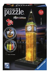 Ravensburger 3D-puzzel Big Ben Night Edition-Ravensburger
