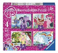 Ravensburger Puzzel 4-in-1 My Little Pony-Ravensburger