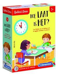 Spelend leren: Hoe laat is het?-Clementoni