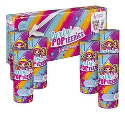 6 Party PopTeenies Surprise Poppers