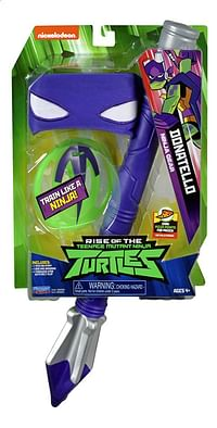 Rise of the Teenage Mutant Ninja Turtles gevechtsaccessoires Donatello Ninja Gear-Giochi Preziosi