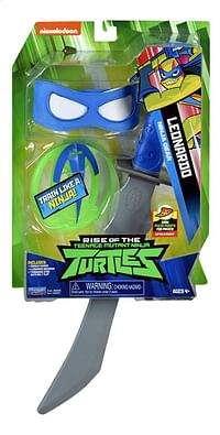 Rise of the Teenage Mutant Ninja Turtles gevechtsaccessoires Leonardo Ninja Gear-Giochi Preziosi