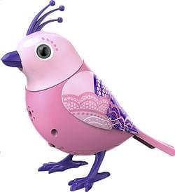 DigiBirds interactieve vogel met kuif Lacy