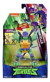 Rise of the Teenage Mutant Ninja Turtles actiefiguur Side Flip Ninja Attack Donatello-Giochi Preziosi