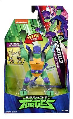 Rise of the Teenage Mutant Ninja Turtles actiefiguur Side Flip Ninja Attack Donatello