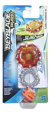 Beyblade draaitol Burst Turbo SlingShock Flame X Diomedes D4-Hasbro
