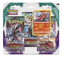 Pokémon Ex Sun & Moon 2, Turtonator-Asmodee