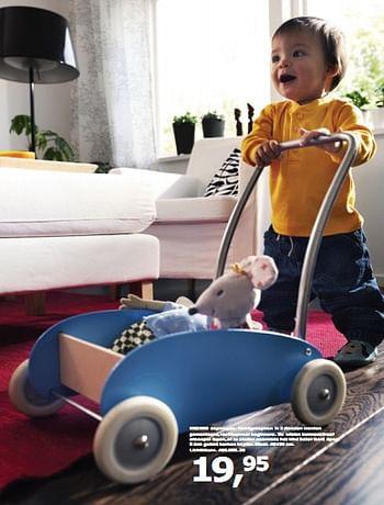 Ikea Promotie Ekorre Loopwagen Handgreep Huismerk Ikea Speelgoed Geldig Tot 31 07 10 Promobutler