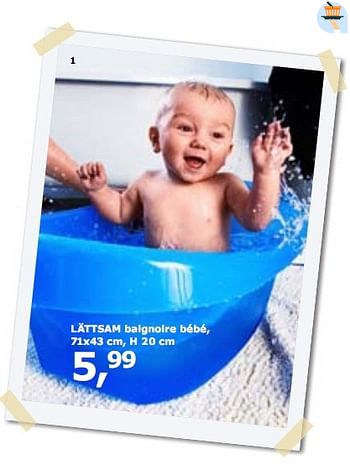 Promotion Ikea Lattsam Baignoire Bebe Produit Maison Ikea Bebe Grossesse Valide Jusqua 4 Promobutler