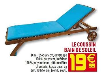 Promotion Gifi Le Coussin Bain De Soleil Produit Maison Gifi Jardin Et Fleurs Valide Jusqua 4 Promobutler