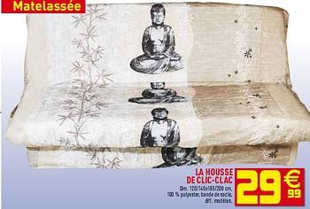 Promotion Gifi Housse De Clic Clac Produit Maison Gifi Interieur Decoration Valide Jusqua 4 Promobutler