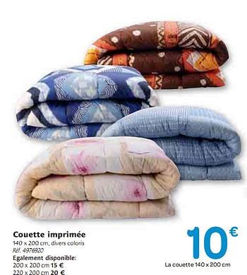 Promotion Carrefour Couette Imprimee Produit Maison Carrefour Menage Valide Jusqua 4 Promobutler
