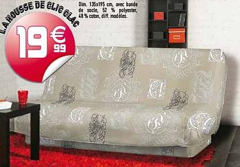 Promotion Gifi L A Housse De Clic Clac Produit Maison Gifi Interieur Decoration Valide Jusqua 4 Promobutler