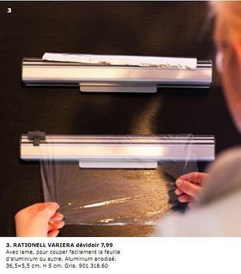 Promotion Ikea Rationell Variera Devidoir Produit Maison Ikea Menage Valide Jusqua 4 Promobutler