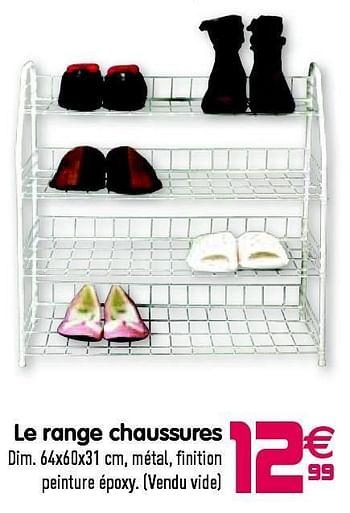 Promotion Gifi Le Range Chaussures Produit Maison Gifi Meubles Valide Jusqua 4 Promobutler