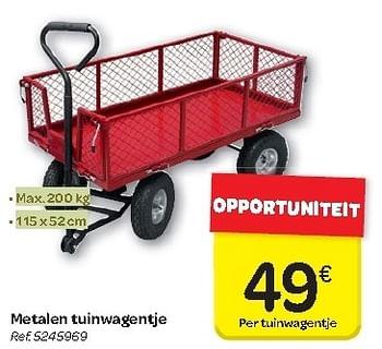 Promotion Carrefour Metalen Tuinwagentje Produit Maison Carrefour Jardin Et Fleurs Valide Jusqua 4 Promobutler