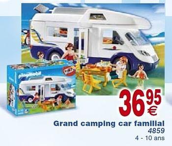 Promotion Cora Grand Camping Car Familial Playmobil Jouets Valide Jusqua 4 Promobutler