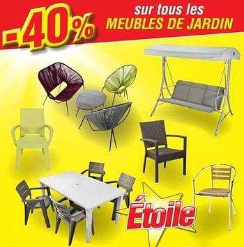 Promotion Makro 40 Sur Tous Les Meubles De Jardin Produit Maison Makro Jardin Et Fleurs Valide Jusqua 4 Promobutler