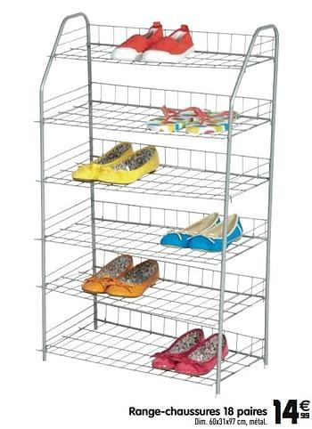 Promotion Gifi Range Chaussures 18 Paires Produit Maison Gifi Meubles Valide Jusqua 4 Promobutler