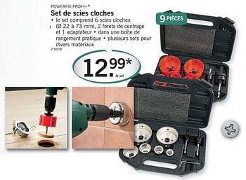 Set De Scies Cloches Lidl 10 10 18