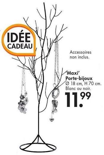 Promotion Casa Maxi Porte Bijoux Produit Maison Casa Montres Bijoux Valide Jusqua 4 Promobutler