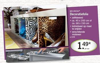 Promotion Lidl Decoratiefolie Melinera Interieur Et Decoration Valide Jusqua 4 Promobutler