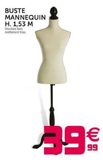 Promotion Gifi Buste Mannequin Produit Maison Gifi Interieur Decoration Valide Jusqua 4 Promobutler