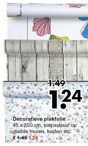 Huismerk Wibra Decoratieve Plakfolie Promotie Bij Wibra