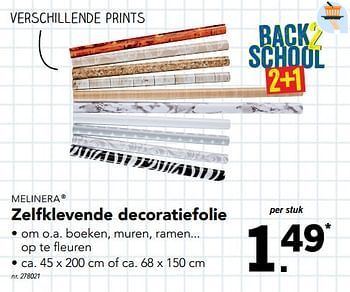 Promotion Lidl Zelfklevende Decoratiefolie Melinera Interieur Et Decoration Valide Jusqua 4 Promobutler
