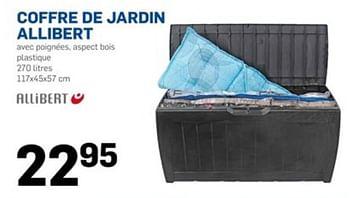 Promotion Action Coffre De Jardin Allibert Produit Maison Action Jardin Et Fleurs Valide Jusqua 4 Promobutler