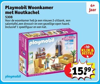 Kruidvat Promotie Playmobil Woonkamer Met Houtkachel Playmobil Speelgoed Geldig Tot 06 12 17 Promobutler