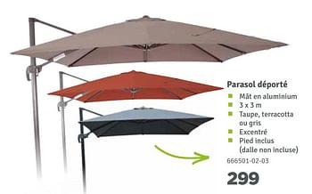 Promotion Mr Bricolage Parasol Deporte Produit Maison Mr Bricolage Jardin Et Fleurs Valide Jusqua 4 Promobutler